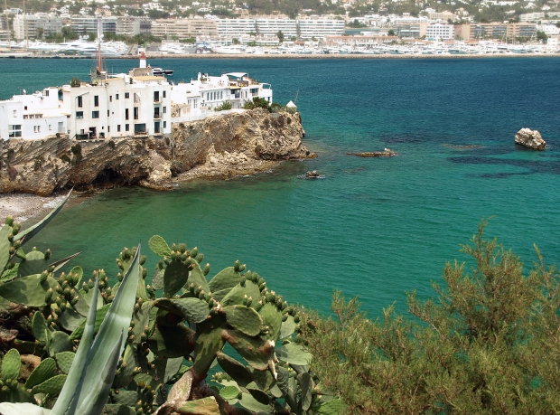 Ibiza - from the water