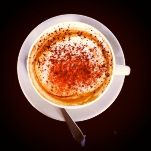Soy cappuccino - I just love a good coffee