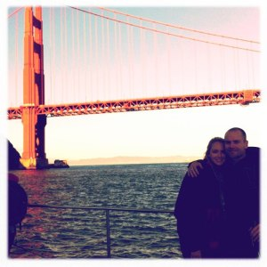 Matt and I in San Francisco
