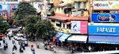 The buzzing streets of Hanoi