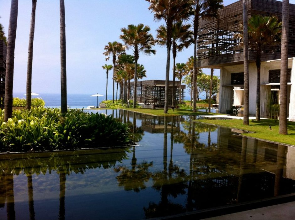Beautiful hotel at Uluwatu