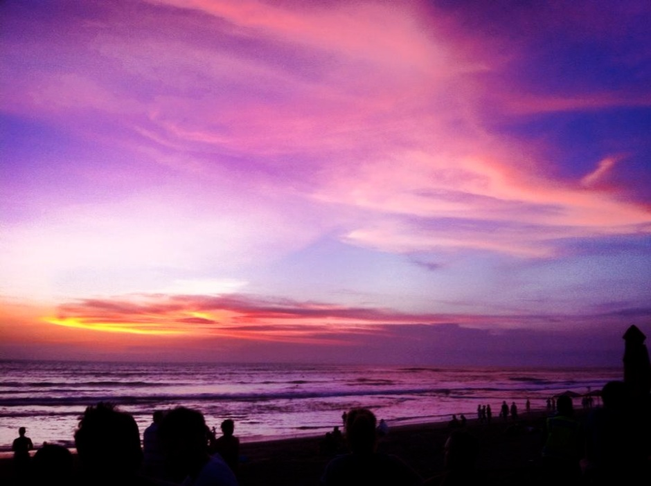 Sunset from Ku De Ta in Seminyak
