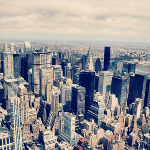 New York City. View from the Empire State Building