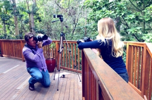 Photo shoot for news.com.au