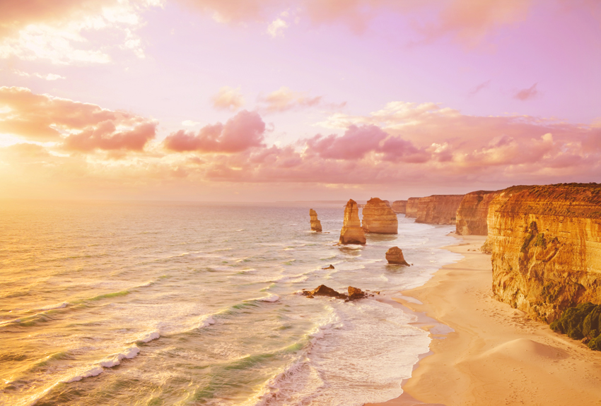 Great Ocean Road, Australia Landscape