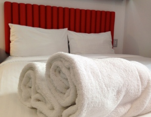 Tune Hotel Towels