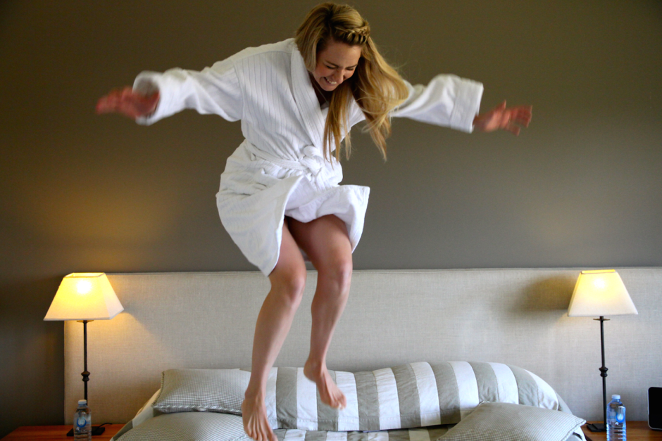 Spicers bed jump