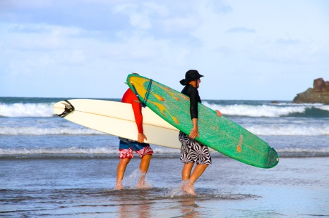 Surfers at 1770