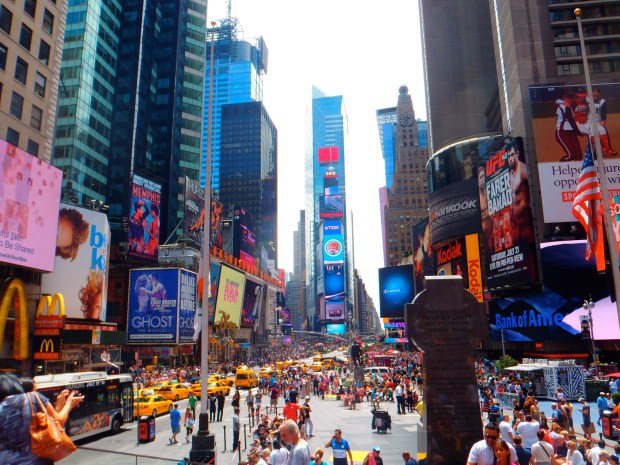 Times Square What to pack for a trip to New York Travel Blog Guide Packing
