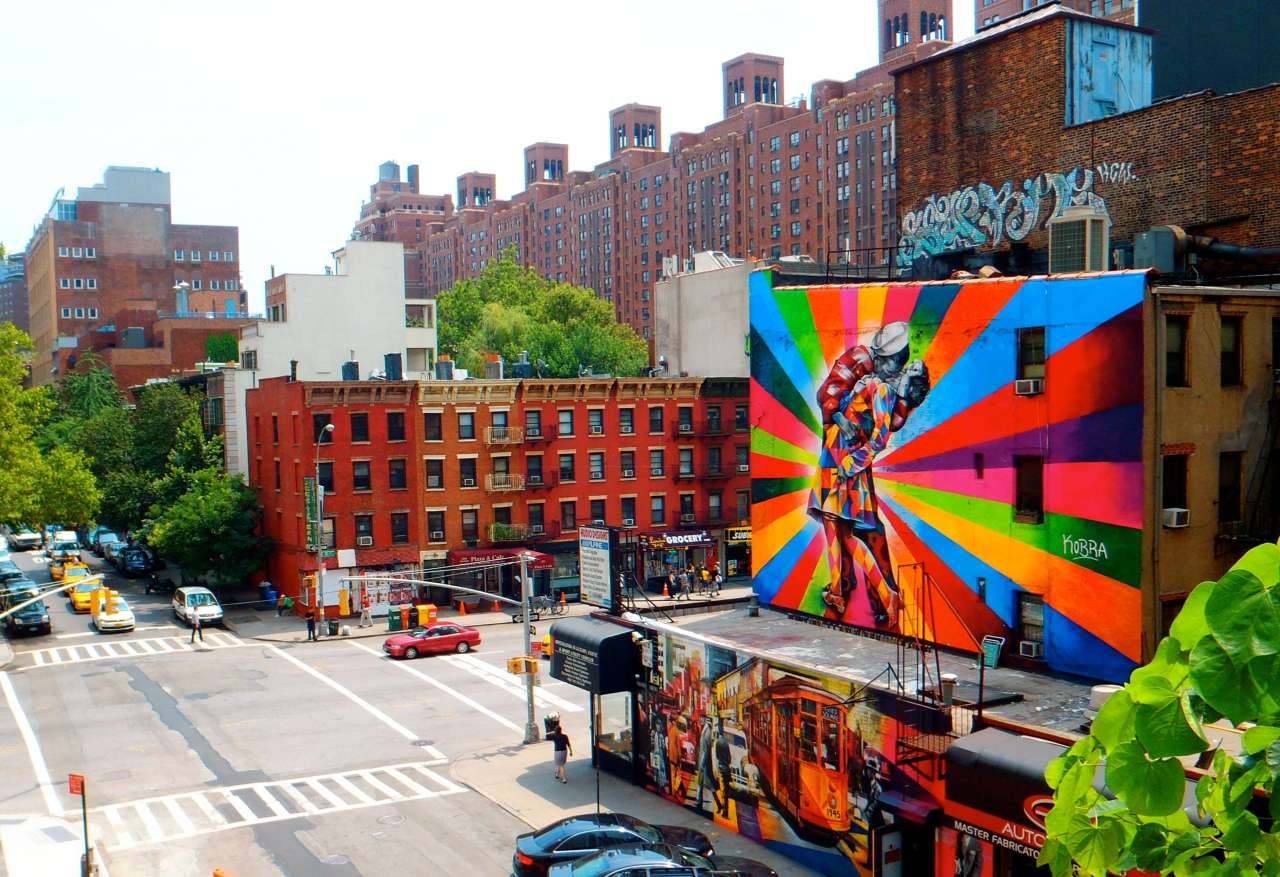 Bright Street Art New York