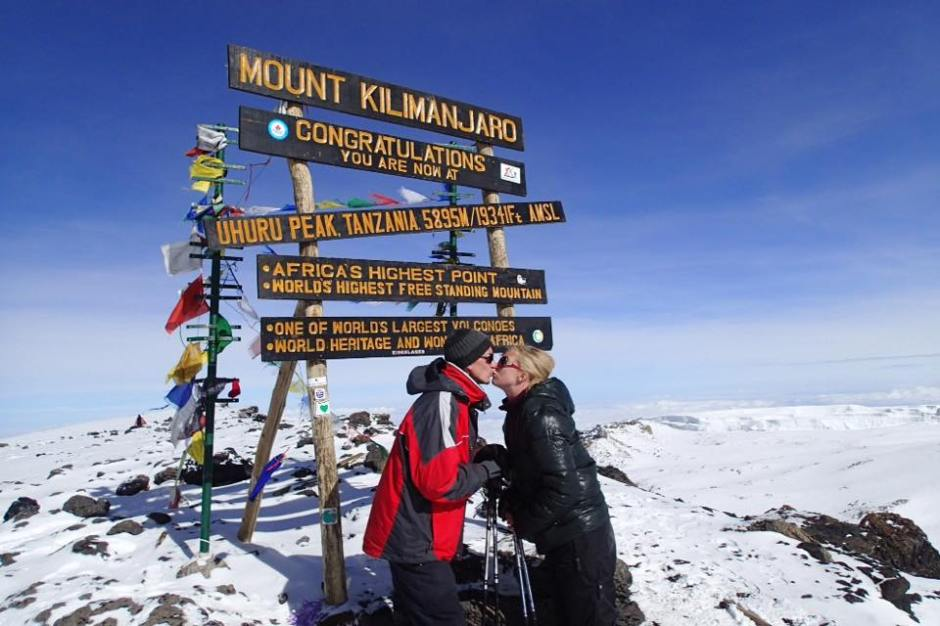 Ashleigh and John - Kilimanjaro