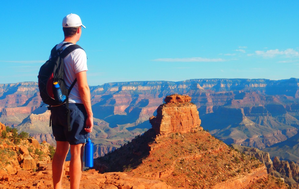 Grand Canyon - Looking out