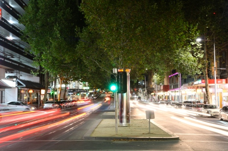 Melbourne's Chinatown at night