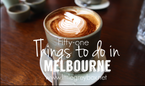 51 things to do in Melbourne