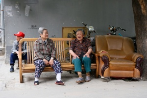 Local ladies of the Hutong