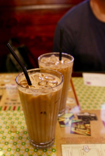 Matchbox Cafe ice coffee