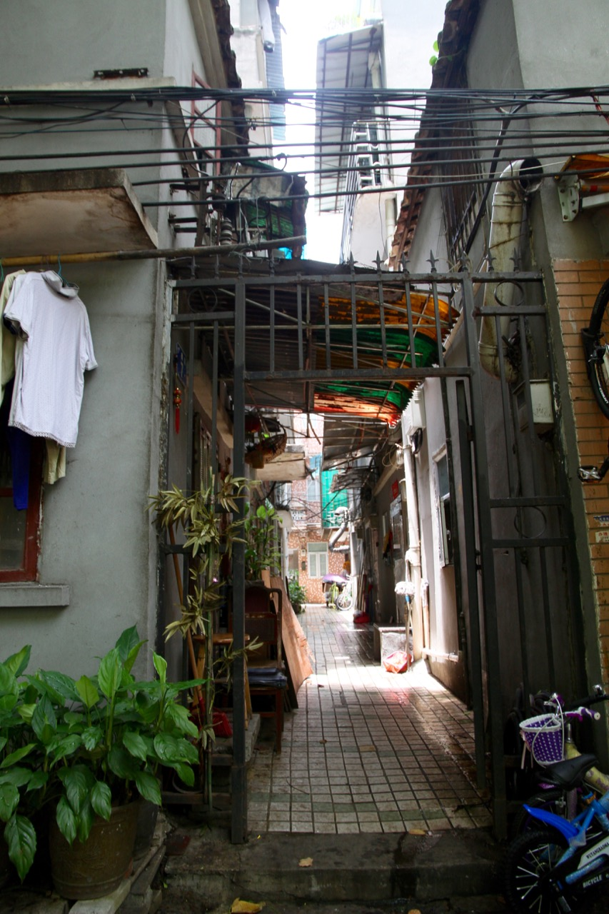 Local residences in Guangzhou