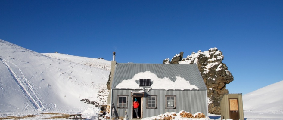 Back Country Hut Snow Farm NZ Things to do in Wanaka