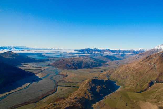Lake Wanaka Things To Do View from Helicopter