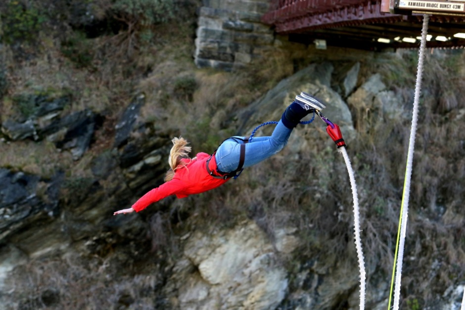 Kathmandu Coat Bungee Jump What to pack for a trip to new zealand in winter travel blog