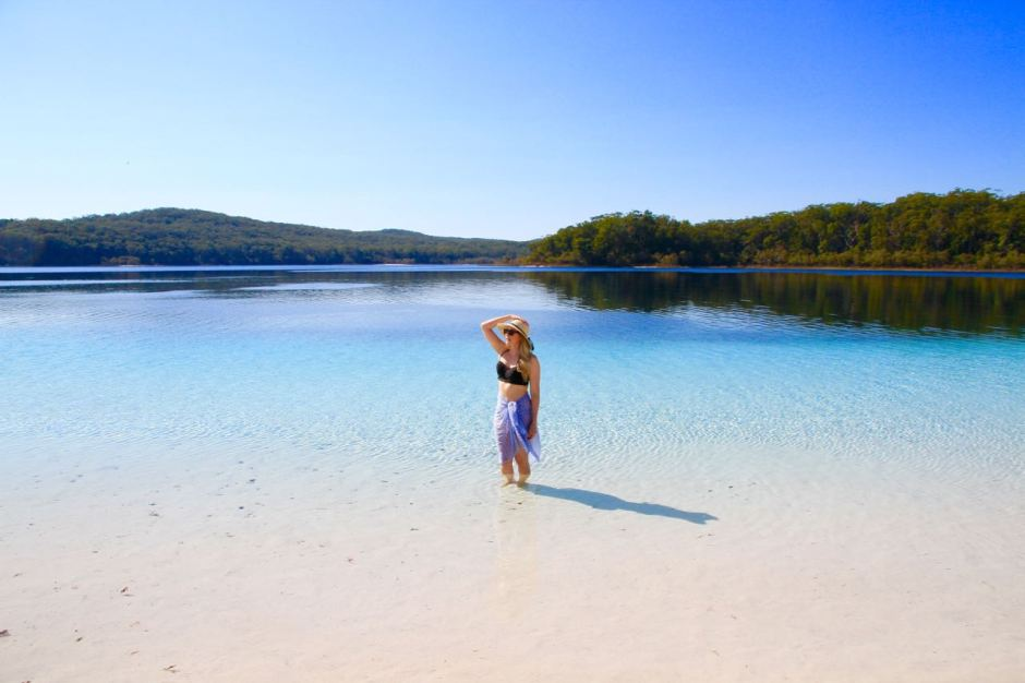 Phoebe Lee Travel Blogger Where should we go in 2016 Lake McKenzie