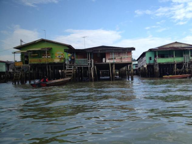 World's largest stilt village, Brunei