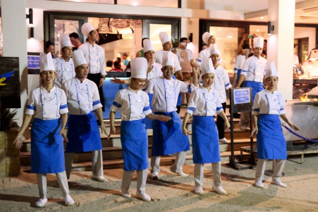 Dancing Chefs Henann Lagoon Resort Travel Blog Review Philippines Holiday