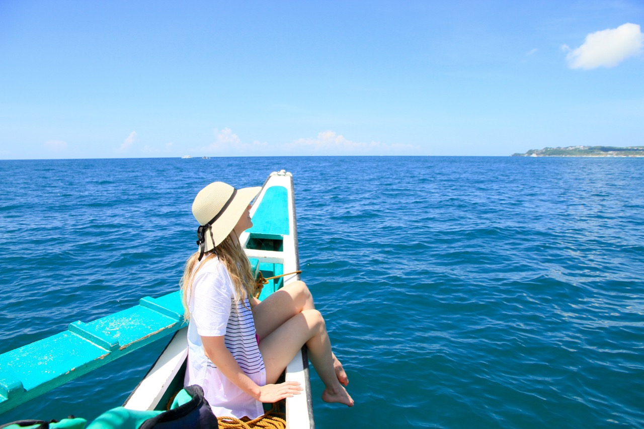 Paraw Boat - Phoebe Lee - Boracay - Travel Blogger - Personal Post Crystal Cove Island