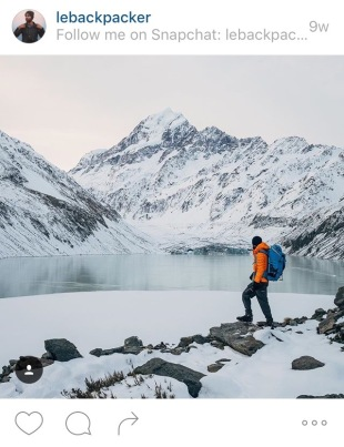 Johan Lolos lebackpacker - my favourite travel instagrammers of 2015