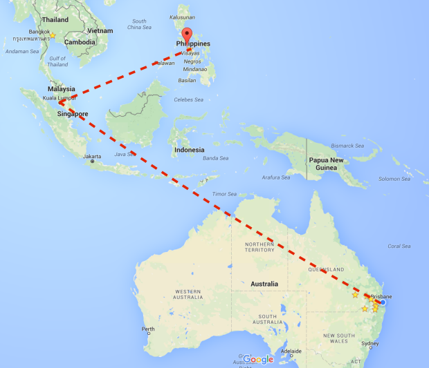 How to get to Boracay from Australia travel blog guide map