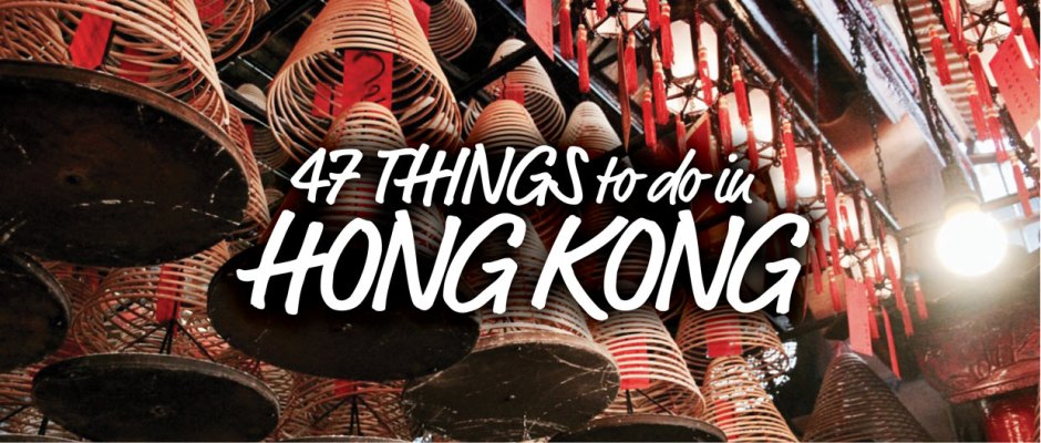 47 Things to do in Hong Kong