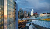 Peppers-Docklands-view across Etihad and CBD