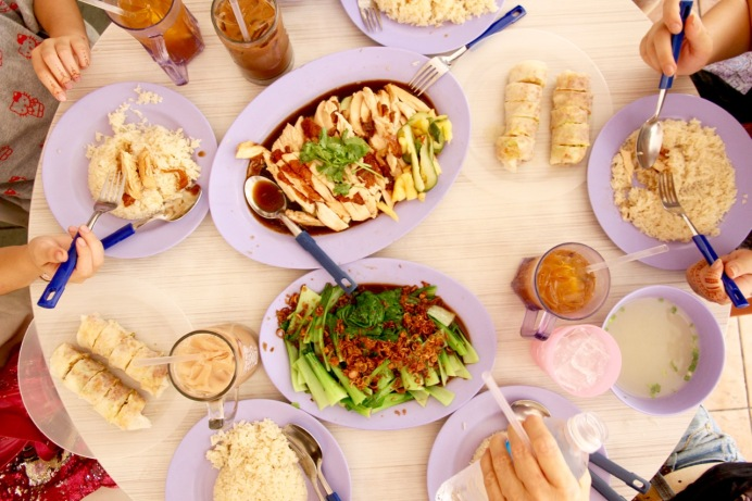 Singapore Food FoodCourt Delicious Travel Blog