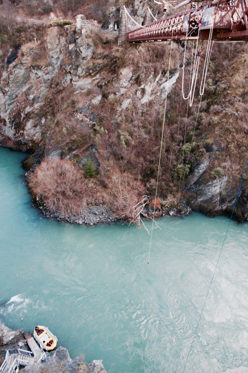 What it's like jumping off a bridge in New Zealand