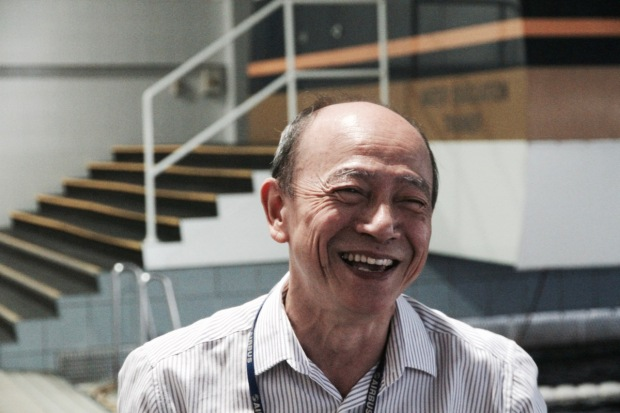 We got the chance to meet Jason, who has worked for Singapore Airlines for 39 years, with 26 of those being spent at the training centre. It's here the new recruits are put through their paces. They undertake all kinds of crazy simulations, including ones where cabins are filled with smoke and they have to evacuate by stairs and inflatable slides (so cool!). There's also a huge wave pool where, in full make-up and that famous Singapore Airlines outfit, they have to evacuate the plane into choppy water. I didn't expect to be impressed, but I was, because it's the amazing attention to detail and the huge amount of time and effort that goes into training that makes the Singapore Airlines flight experience so good. For example, there are grooming classes where a specialist Lancome make-up artist teaches the women how to apply the perfect make-up and perfect a french twist. Trainees also undertake deportment classes, where they're shown how to walk with confidence and sit in culturally respective ways.