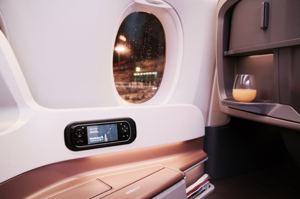 What it's like flying Business Class with Singapore Airlines