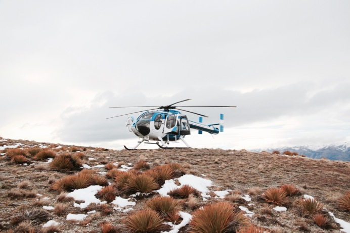 Helicopter wine tasting in Central Otago...