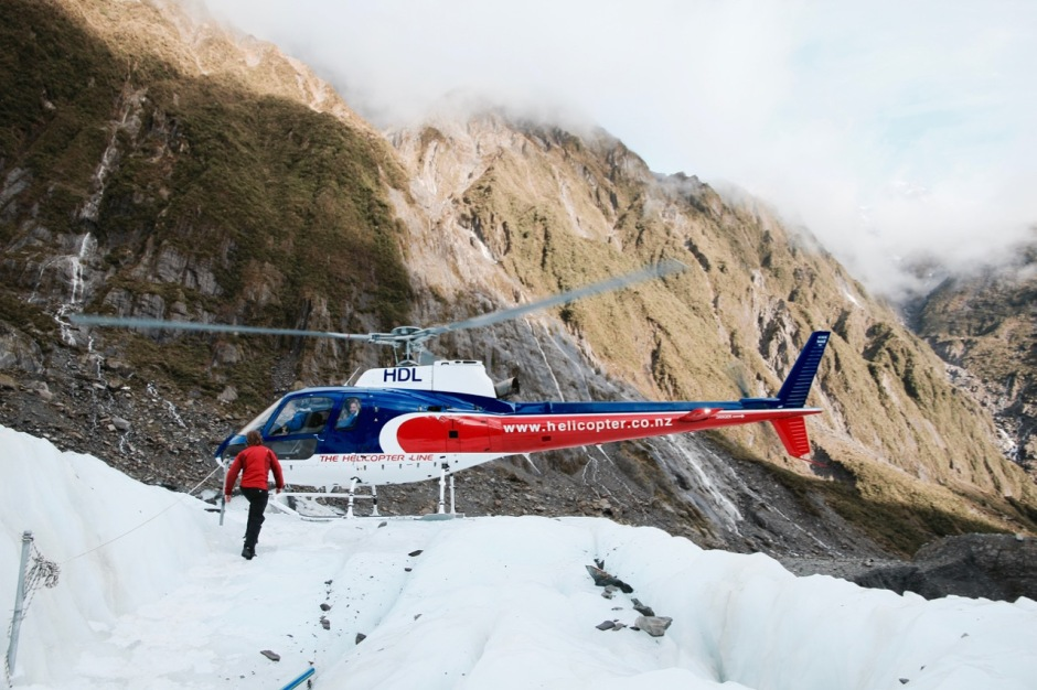 Heli-Hiking the Franz Josef Glacier