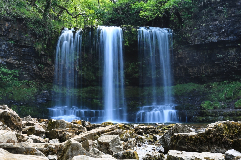 You could take a walk to the Waterfalls near Ystradfellte on Afon Hepste