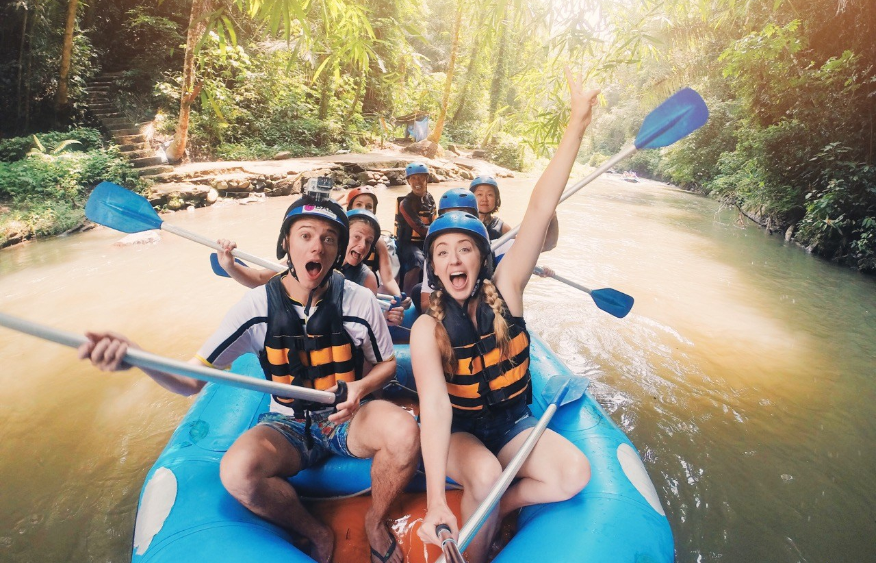 Rafting in Bali, Little Grey Box