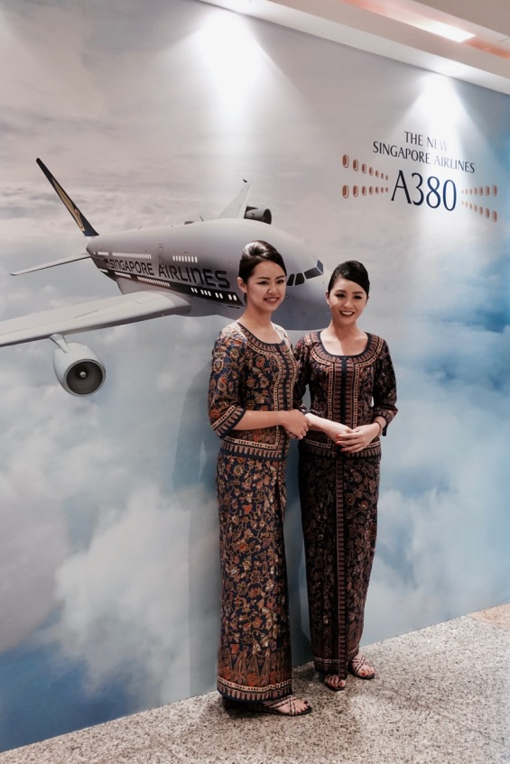Behind-the-scenes of Singapore Airline's cabin product launch!