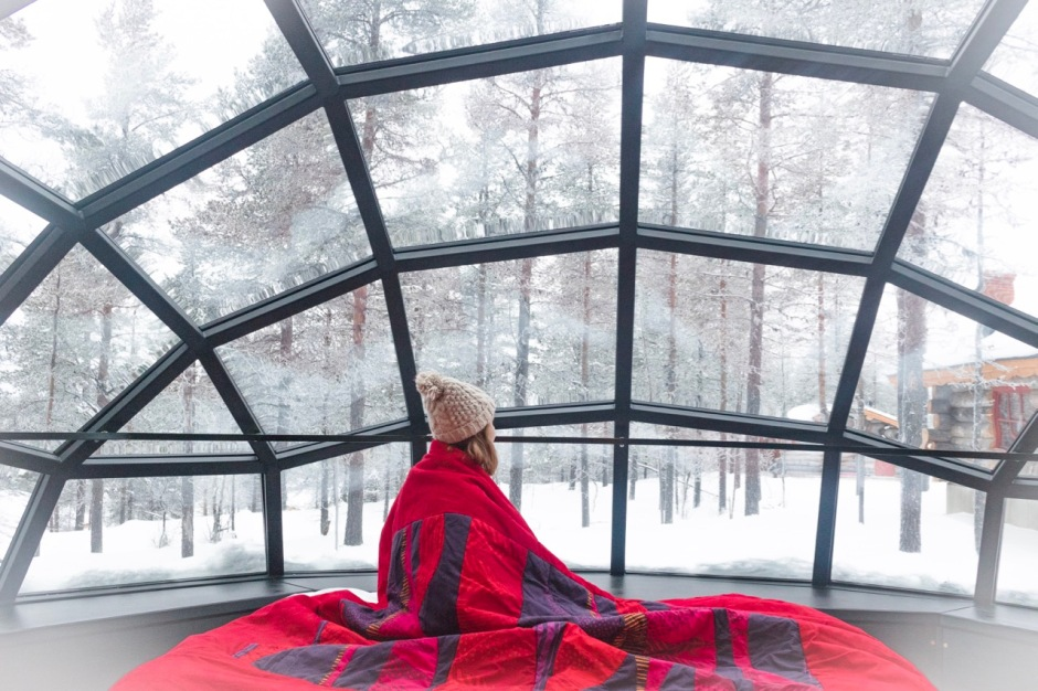 This is what it's like to sleep in a Glass Igloo in Finland