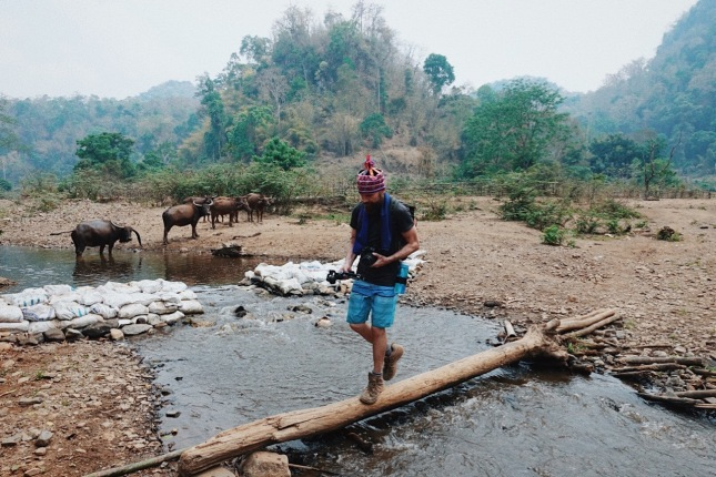 This is what it's like trekking in Northern Thailand!