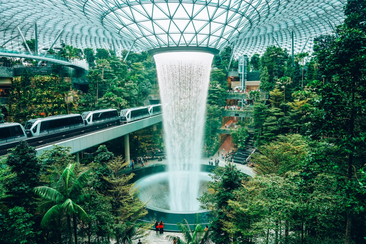 The Best Guide To Visiting Jewel At Changi Airport In Singapore Little Grey Box